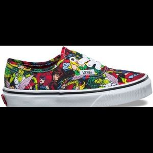 c4c4d9cdfb Vans Shoes - Vans girls Marvel Authentic Limited Edition shoes